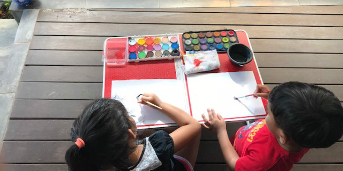 Simple Ways to Get Artsy with Kids