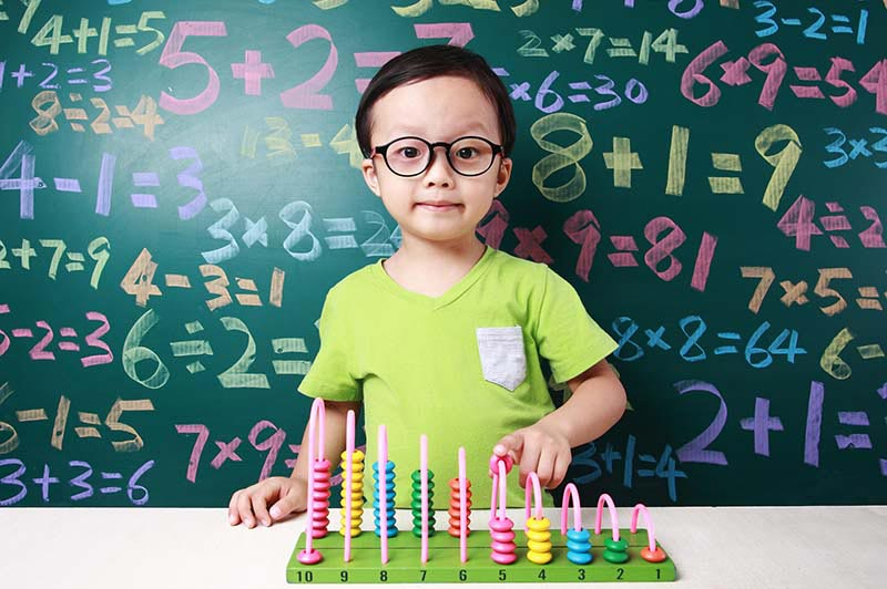 Developing early numeracy skills (0-6 years)