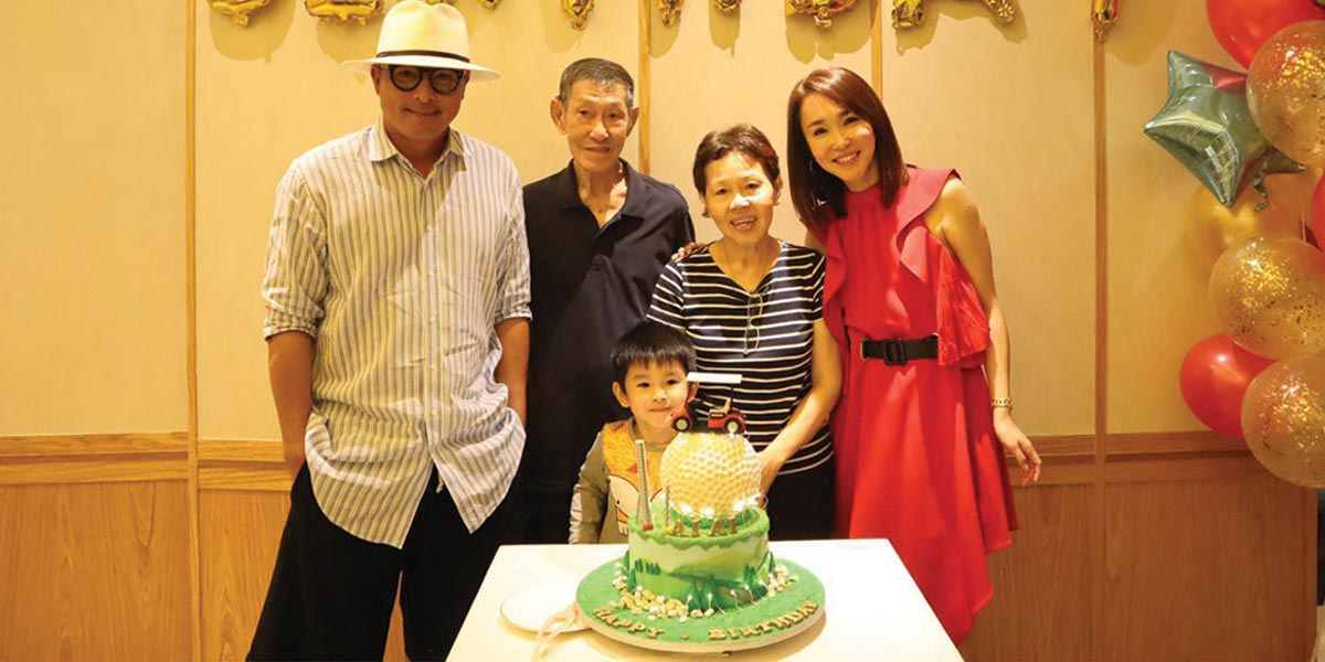 Fann Wong Shares about Zed's Bond with his Grandparents