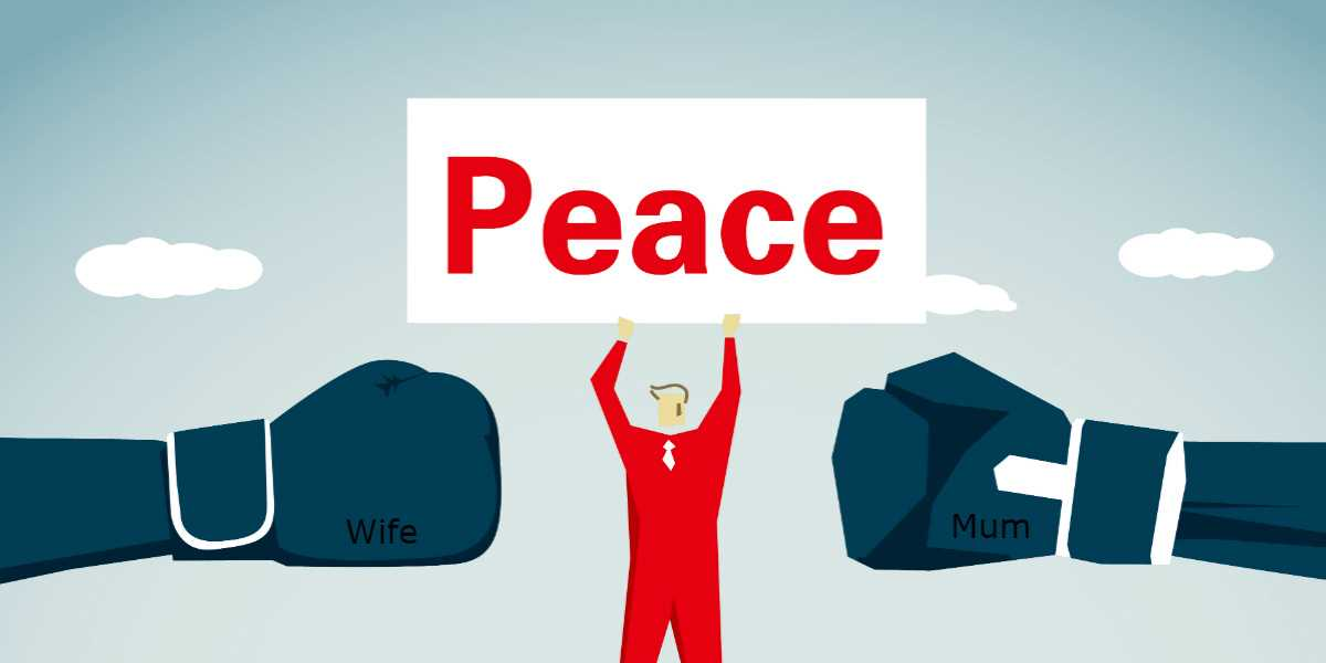 A graphic of a man holding a Peace sign