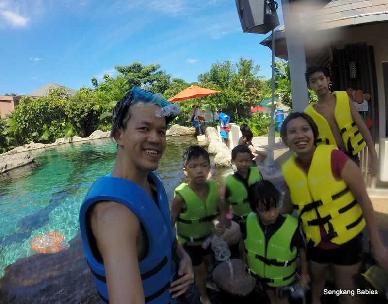 Resorts World Sentosa Adventure Cove Waterpark Families For Life