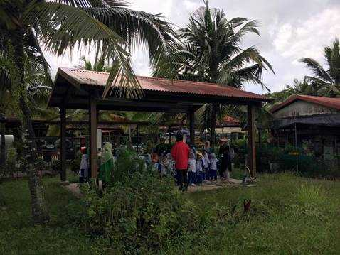 Farm tour at D'Kranji Farm Resort