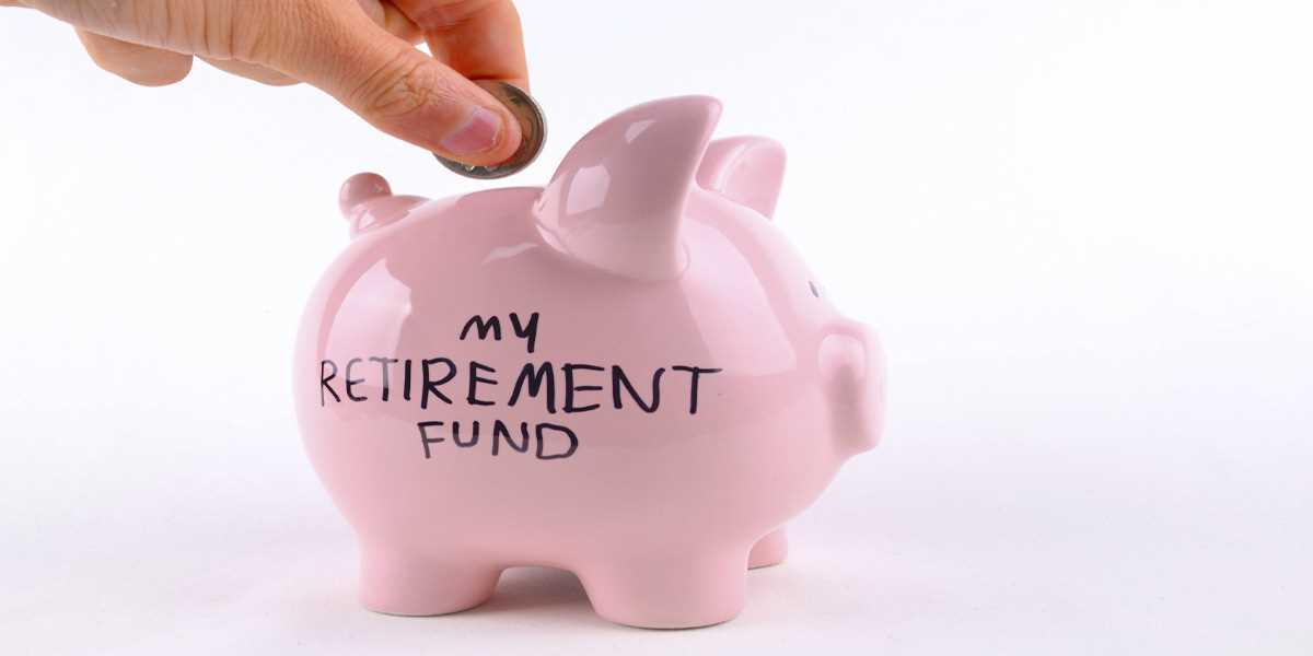 a piggy bank for retirement funds