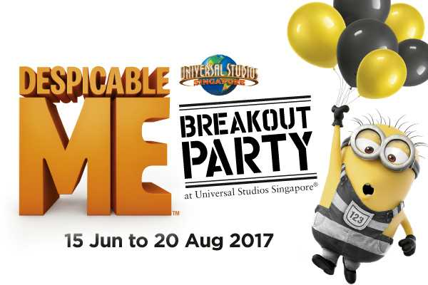 Despicable Me Breakout Party at USS