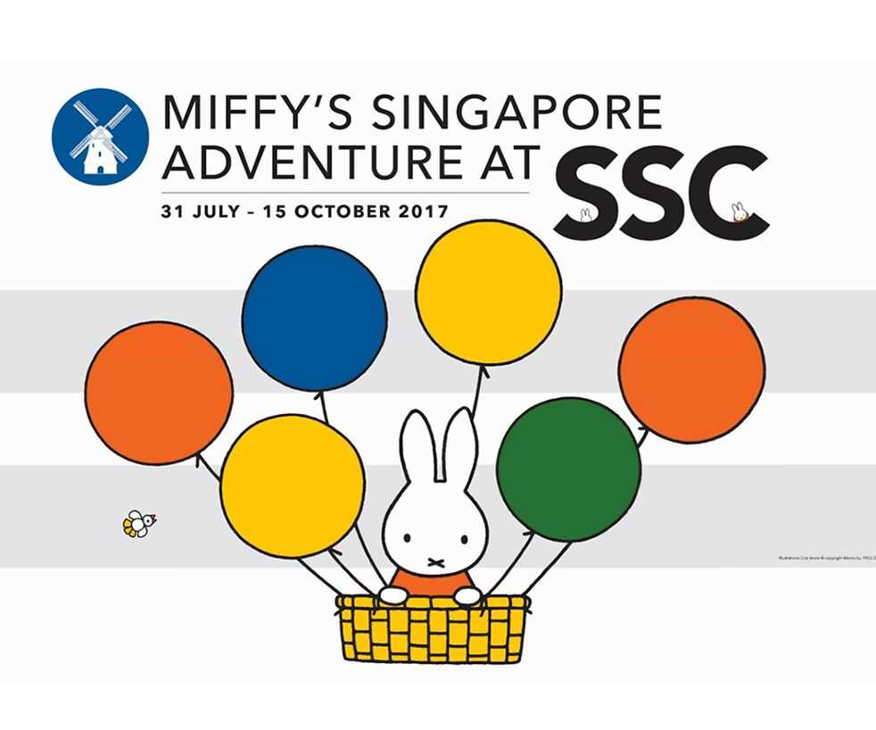 Miffy's Singapore Adventure at SSC