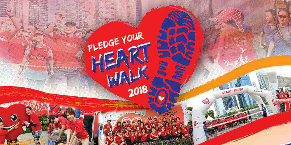 Pledge Your Heart Walk 2018