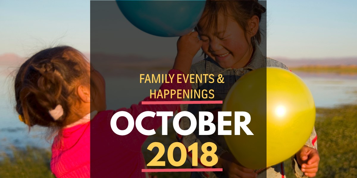 Family Activities in October 2018