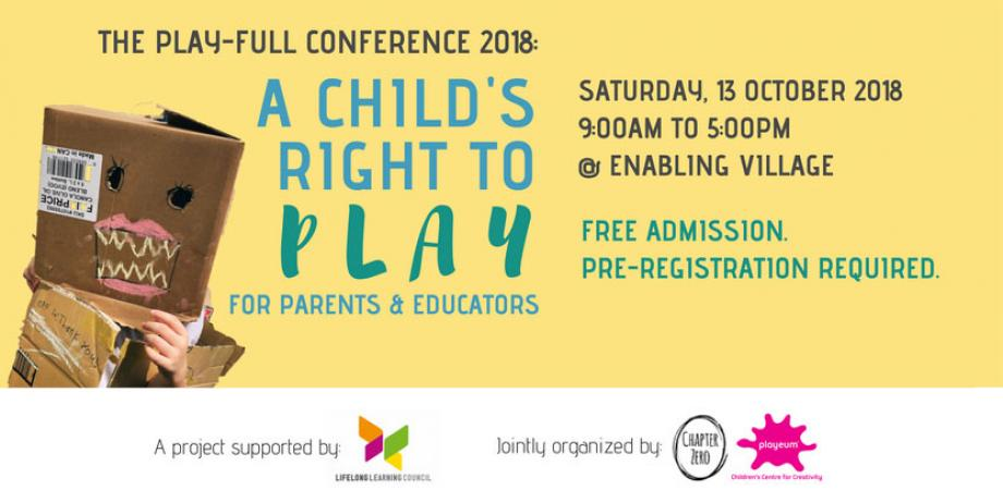 The Play-Full Conference 2018: A Child's Right To Play