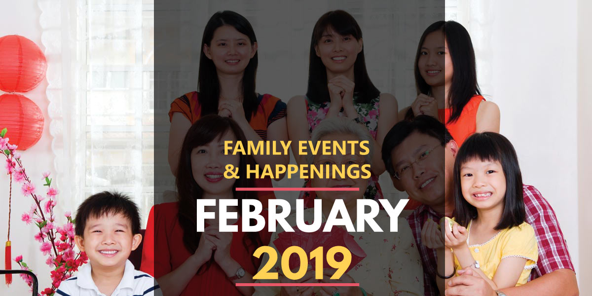 Family Activities in February 2019