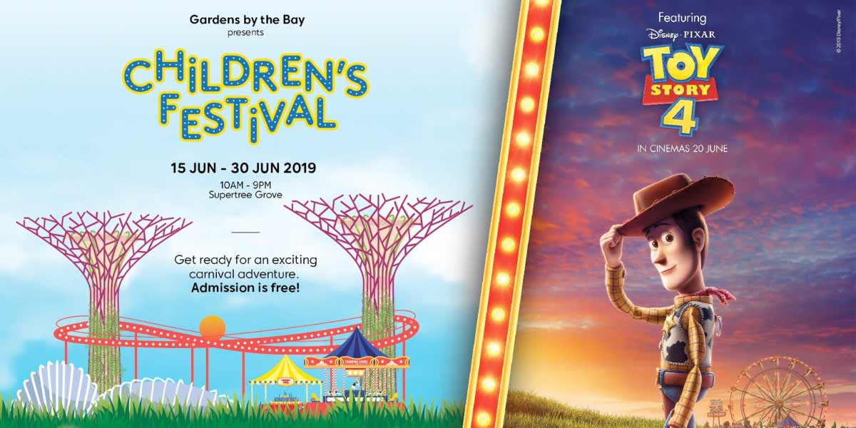 Children's Festival by Gardens by the Bay 2019
