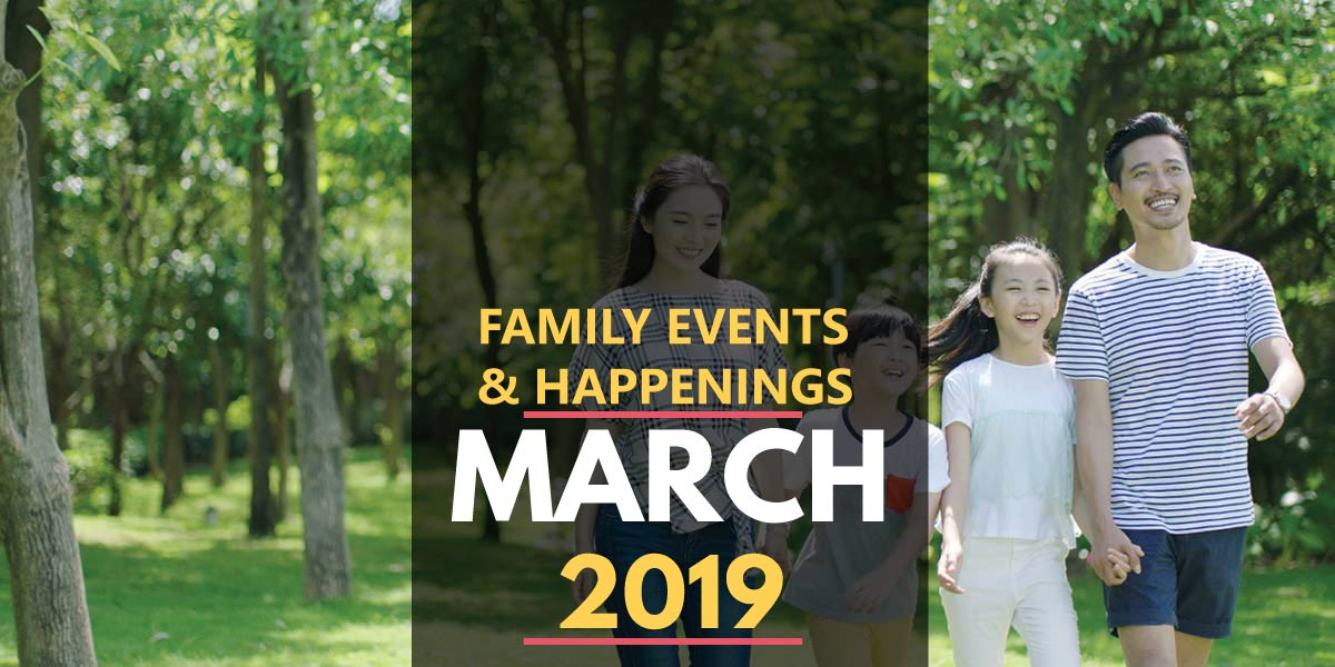 Family Activities in March 2019