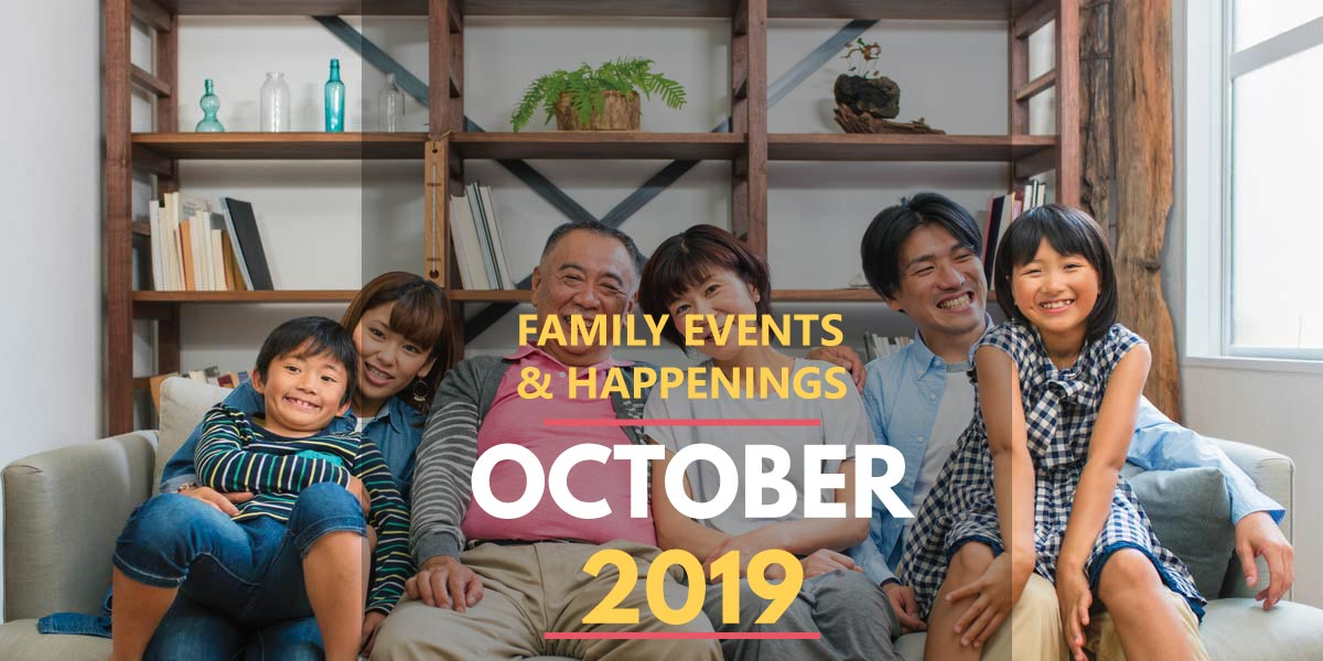Family Activities in October 2019