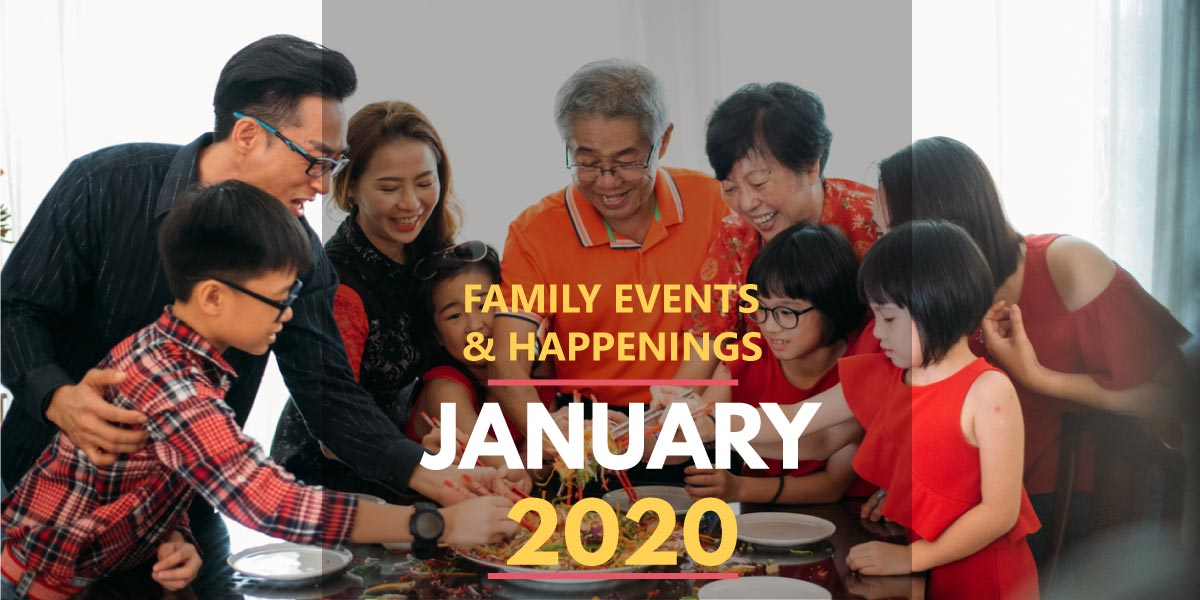 Family Activities in January 2020