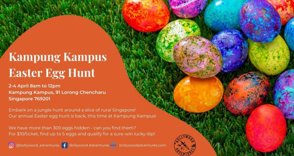 Kampung Kampus Easter Egg Hunt