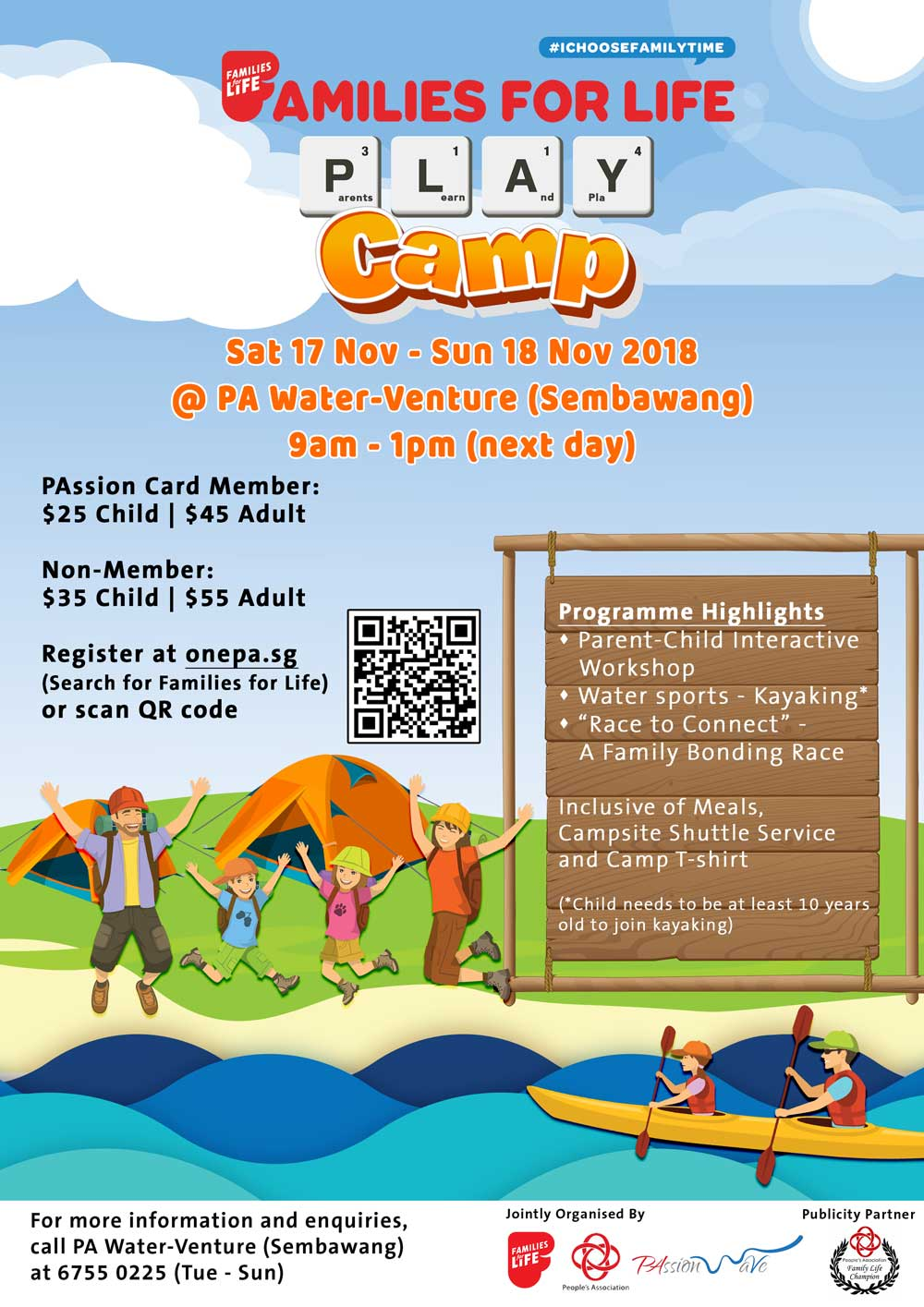 FFL PLAY Camp 2018 Poster