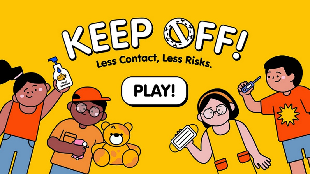 Keep-Off game
