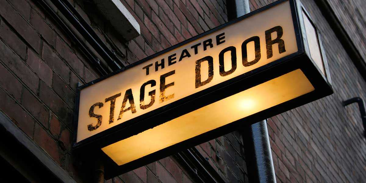 theatre stage door