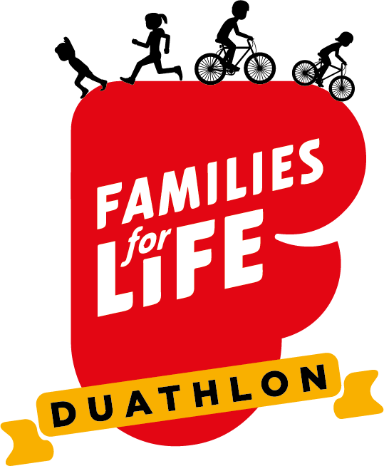 Families for Life Duathlon logo