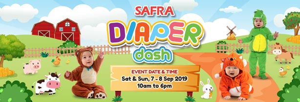 SAFRA Diaper Dash 2019