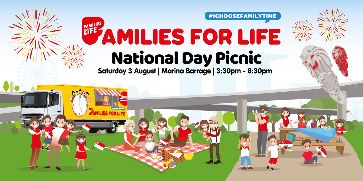Families for Life National Day Picnic @ Marina Barrage