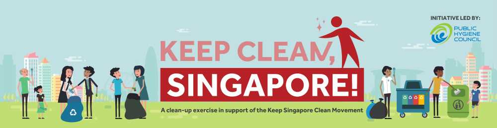 NEA Keep Clean Singapore