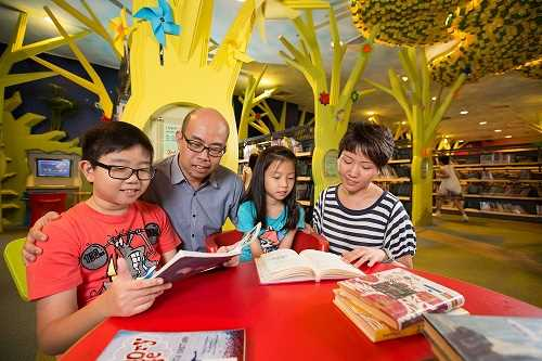 NLB Parent and Child Reading
