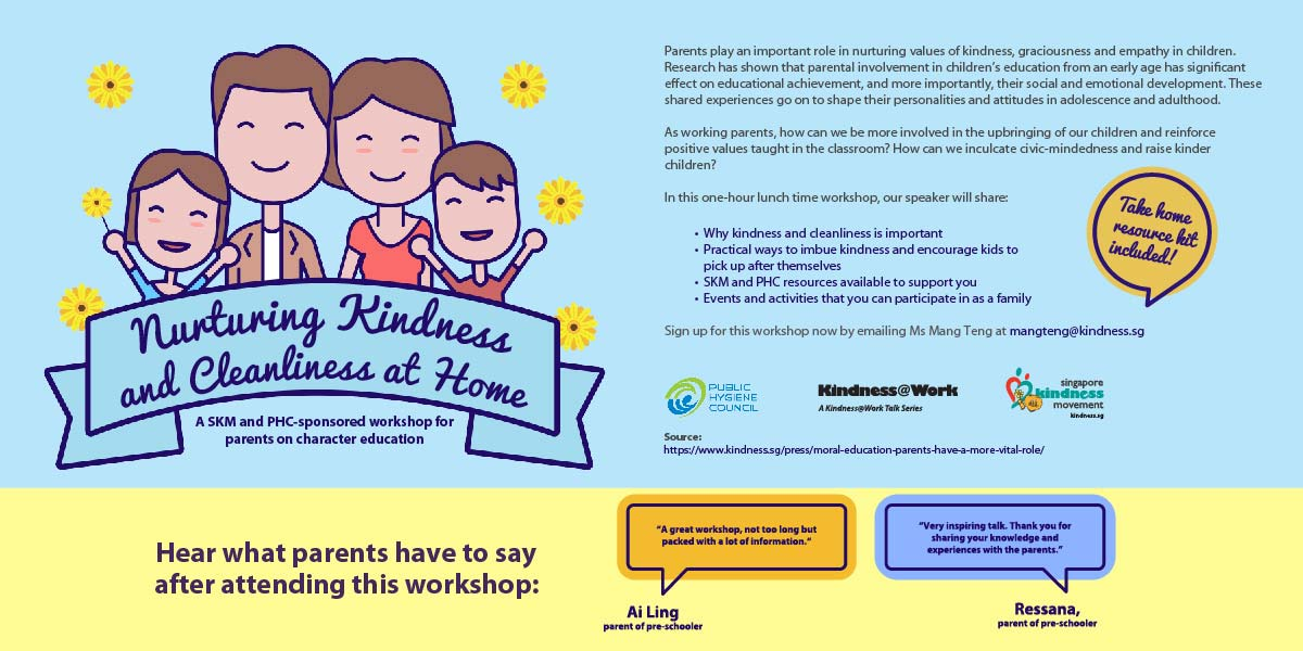 Nurturing Kindness and Cleanliness at Home